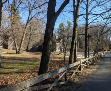 quick walk from here to Concord Museum & Emerson house_Louisa May Alcott home of Little Women Orchard House_Concord Mass_winter_20200126_ photograph copyright ©c ryan