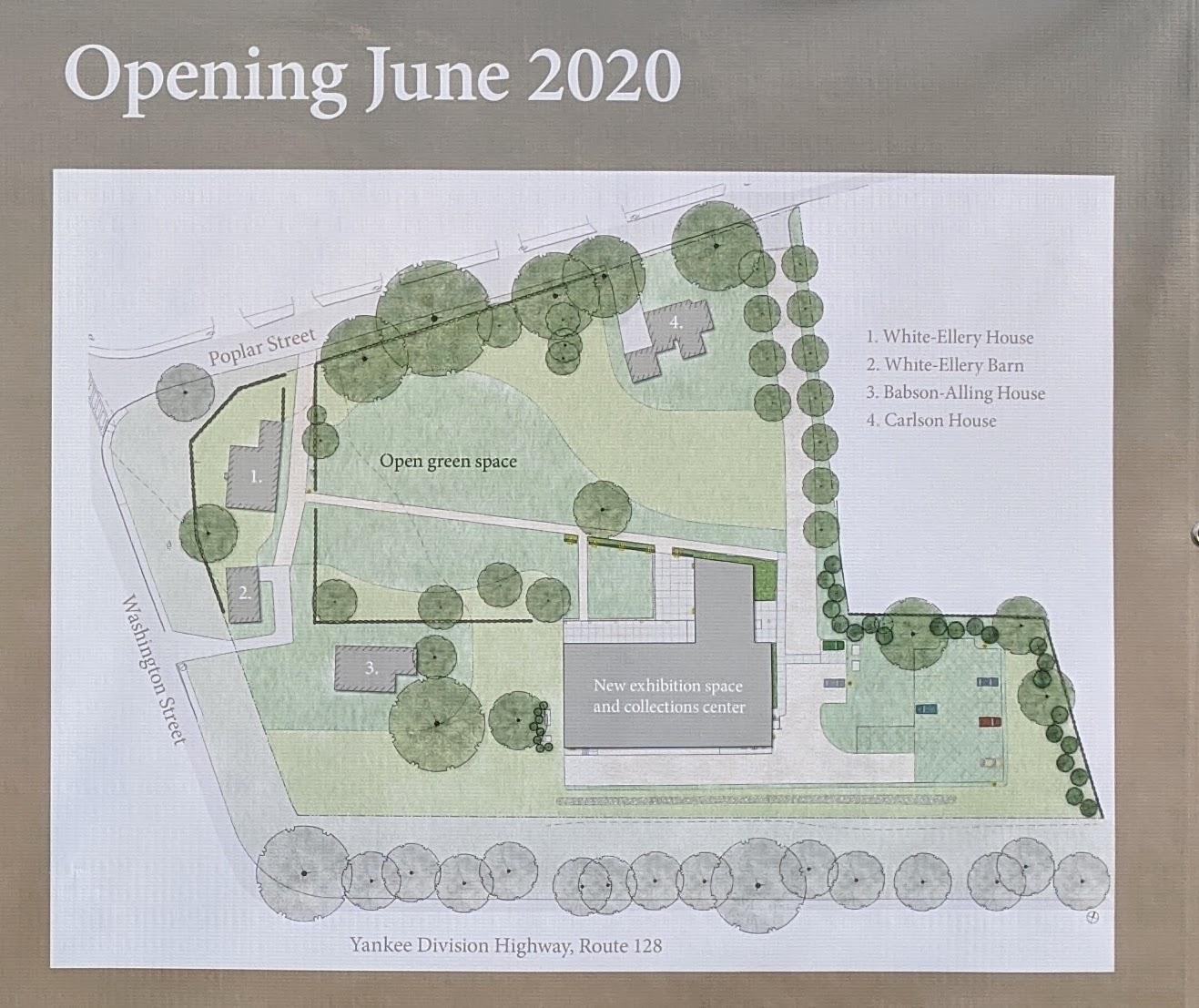 sign announcing Cape Ann Museum expansion_Gloucester Mass_20200114_©c ryan