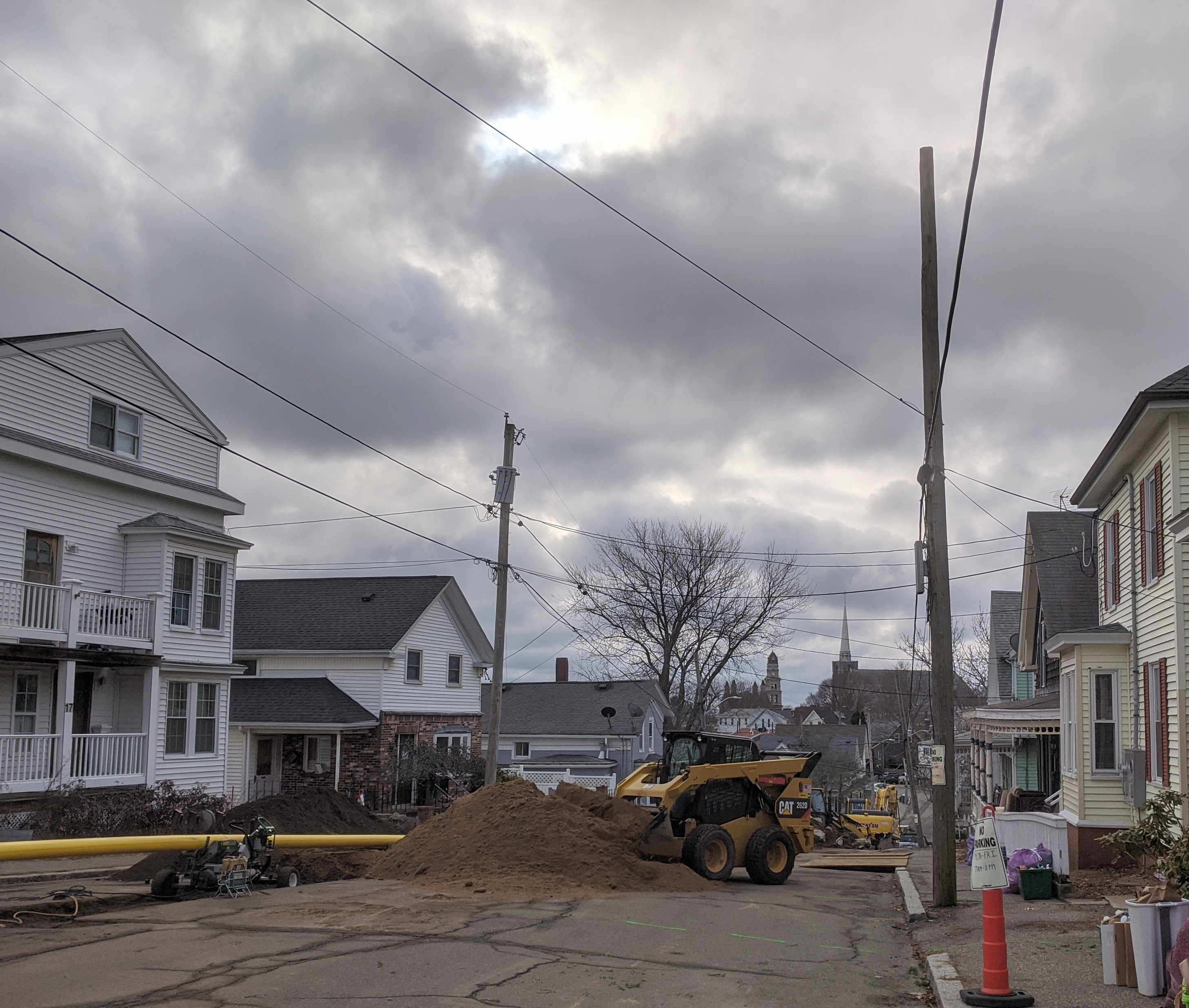 view down Millet St. Gloucester MA__thanks to Mayor, DPW getting $ past finish line _3 million all grant funded_ MassWorks_ infrastructure improvements_photo © c ryan 2020 Jan 14.jpg