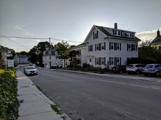 view down Prospect Street to Our Lady direction_20180820_Gloucester Mass ©c ryan