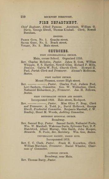 1875 churches