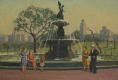 Emma Fordyce MacRae Bethesda Fountain at Doyle auction March 10 2020 est 4000-6000