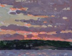 Gifford Beal Pink Sky 8 x 10 est 1000-1500