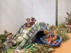 Miniatures by artist Betty Allenbrook Wiberg invited artist installation as part of Once Upon a Contest at Rockport Public Library Feb 2020 photo © c ryan (2)