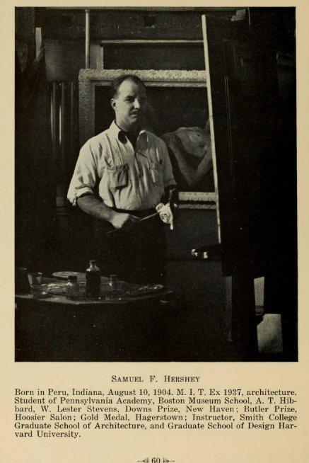 Samuel F. Hershey Rockport Art Assoc catalogue members from 1940