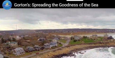 still from Gorton's Gloucester MA commercial February 2020