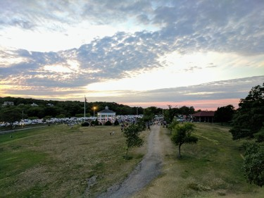 Summer concert 2017 view from Tablet Rock ©c ryan