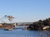 Sunny Saturday morning dredging Annisquam River_Gloucester Mass._ 20200222_photograph ©c ryan