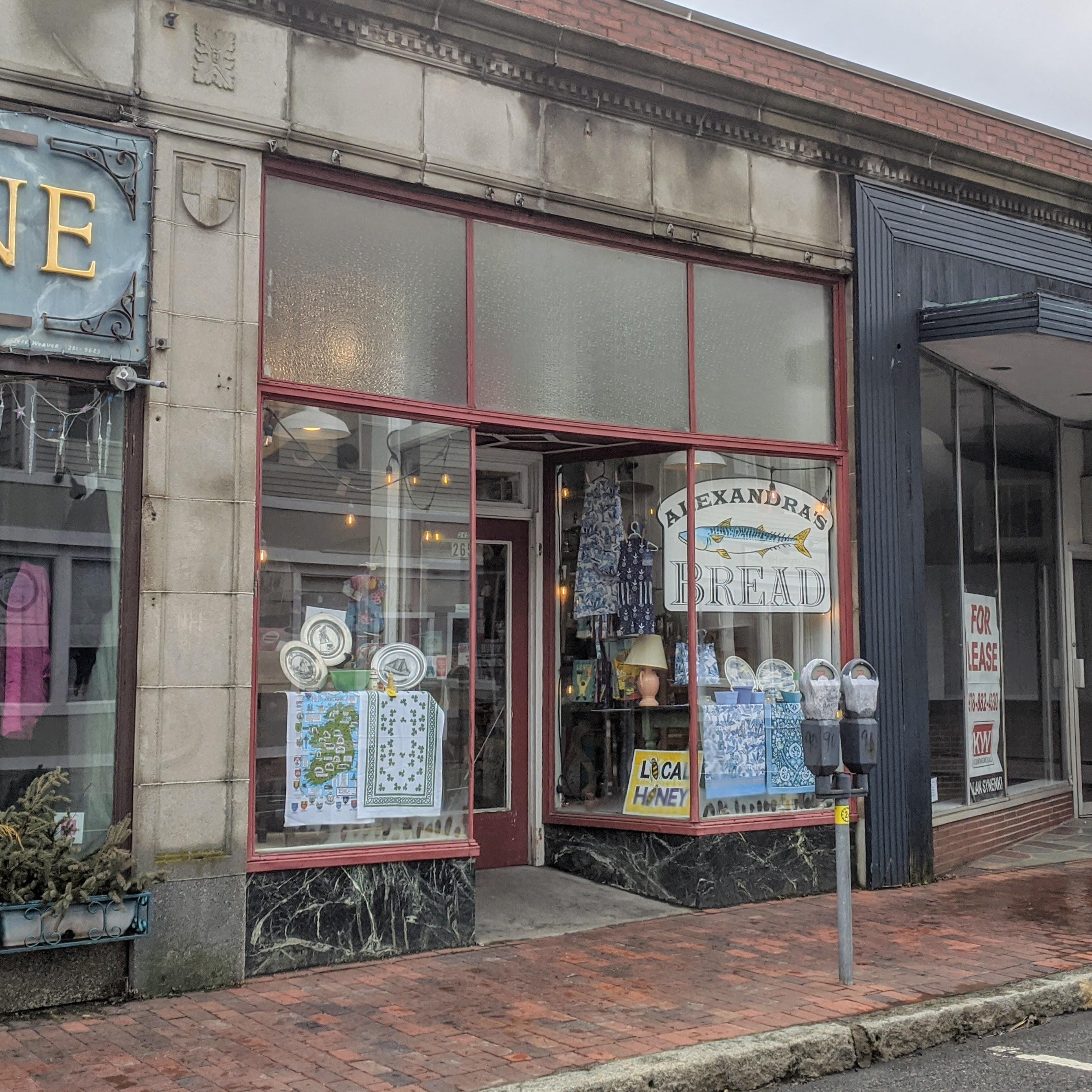 Alexandra's Bread bakery Main Street Gloucester MA storefront_20200324_©c ryan