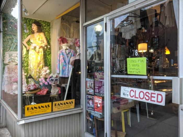 Bananas_Main Street corona closure_3 weeks starting March 16_2020 ©c ryan