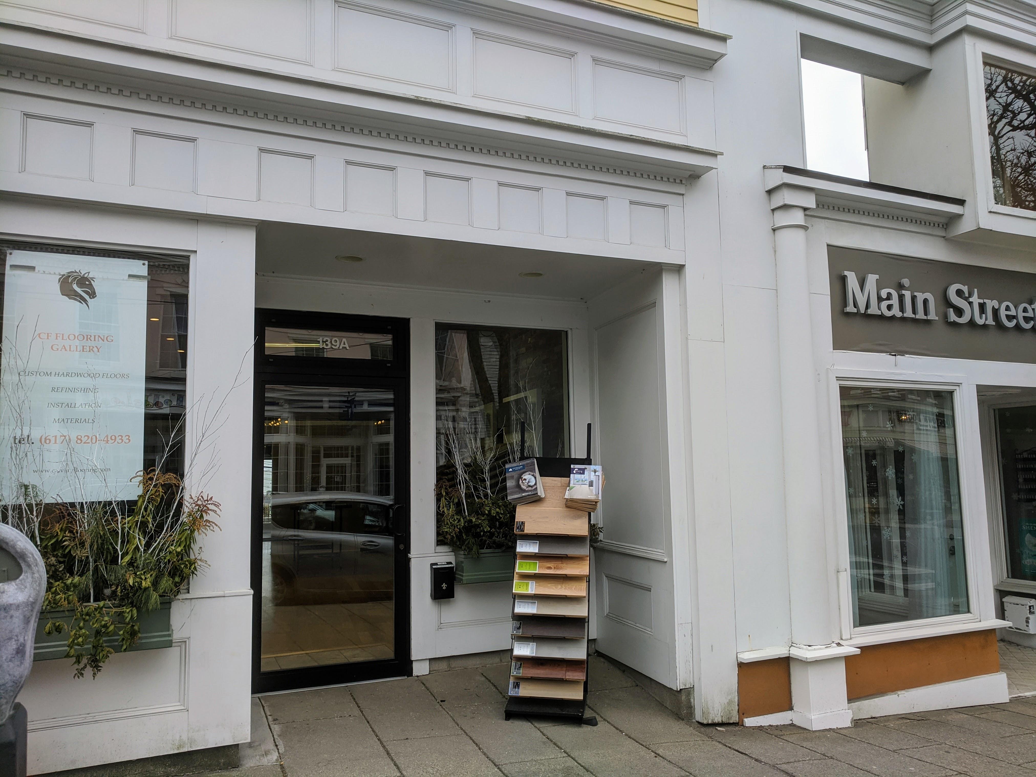 CF Flooring Gallery 139A Main Street Gloucester MA storefront ©c ryan
