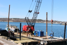 further dock installation 003
