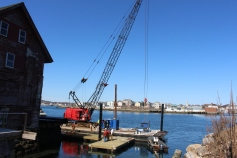 further dock installation 006