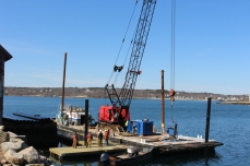 further dock installation 008