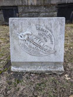 Gilbert Stuart headstone central burying ground boston commons _20180301_©c ryan