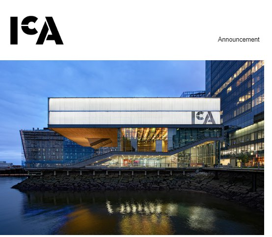 ICA announcement March 12 2020