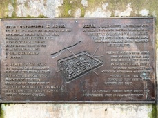 Roman Gloucester History Plaque