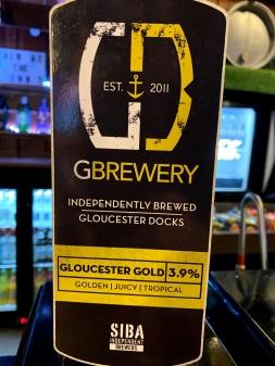 Gloucester Brewery Gloucester Gold