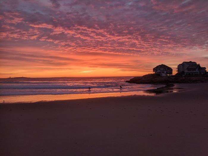 morning joe_day light savings sunrise_Long Beach _Gloucester Mass end_20200308_photograph copyright Catherine Ryan