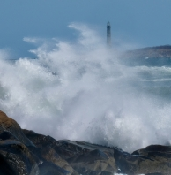 North Light Thacher Island Rockport Atlantic Coast Storm copyright Kim Smith - 9 of 37