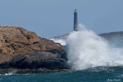 North Light Thacher Island Waves Rockport Atlantic Coast Storm copyright Kim Smith - 3 of 37