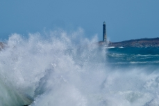 North Light Waves Rockport Atlantic Coast Storm copyright Kim Smith - 8 of 37