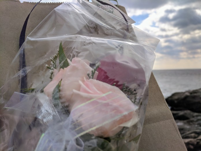 surprise travel corsage for MIL conversation for travel Sage Flowers Gloucester Mass