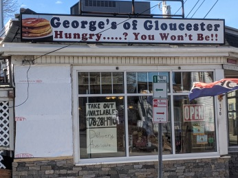Take out available_George's of Gloucester corner of Washington and Centennial Street_ Gloucester Mass photograph ©c ryan (2)