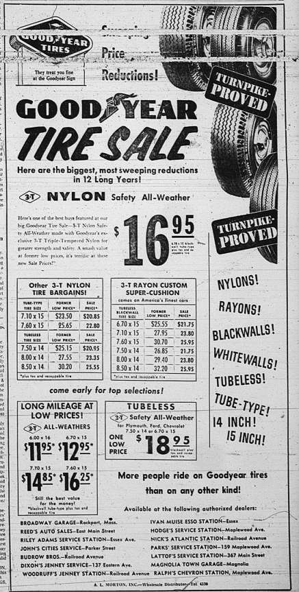 Tire ad GDT Aug 7 1959
