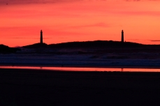 Twin Lights Thacher Island Rockport Atlantic Coast Storm copyright Kim Smith - 35 of 37