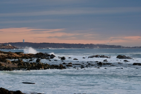 Waves Gloucester Atlantic Coast Storm Back Shorecopyright Kim Smith - 34 of 37
