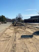 courtesy photo from Gloucester DPW March 2020_O'Maley courtyard work underway_major tree planting +new flower beds_repair cement_ 1 of few big proj.despite covid- (4)