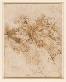 Da Vinci_Man Tricked by Gypsies circa 1493_Royal Collection Trust_pen and ink RCIN 912495