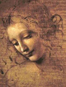 NOT IN CLASSICAL GAS_ ref only_Da Vinci La Scapigliata - Head of a Woman _Galleria nazionale di Parma