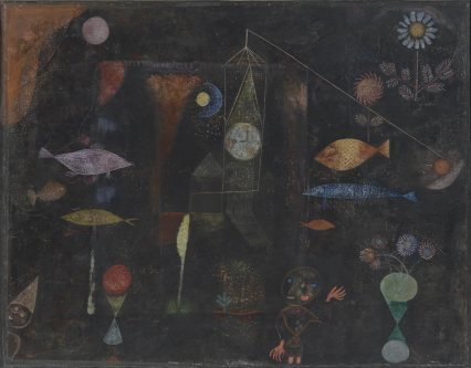 PAUL KLEE Fish Magic 1925_ acquired by Phil Mus of Art 1950-134-112-pma