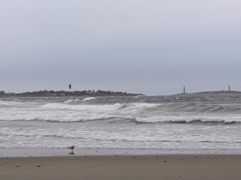 solo kitesurfing on windgusts, April 21, 2020 _Long Beach, Rockport_Ma, Gloucester_MA, © c ryan (2)
