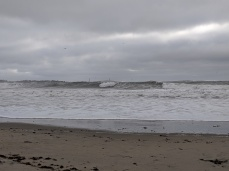 waves so big Thacher twin lights were obscured _ April 4 2020 Long Beach ©c ryan