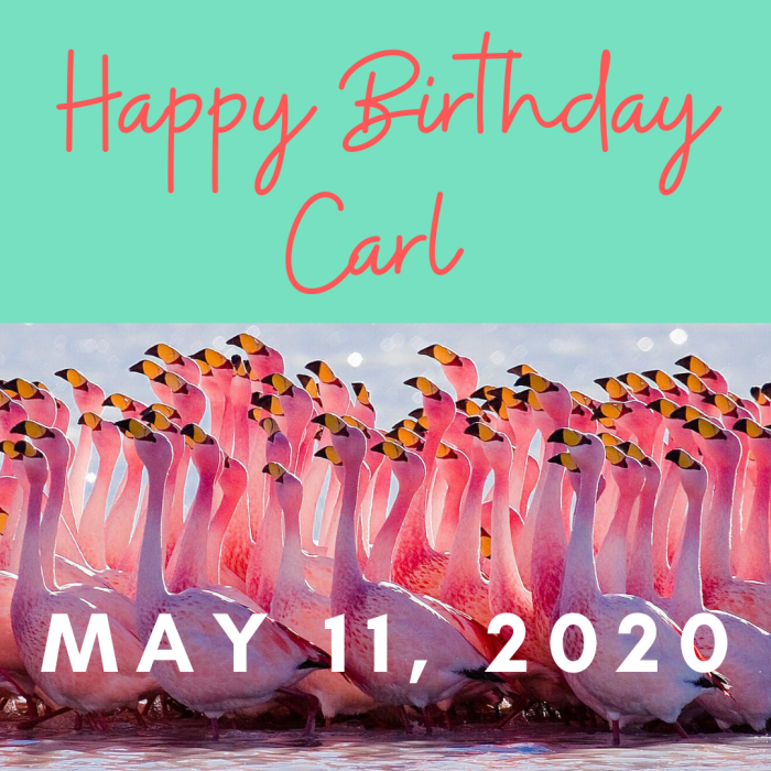 Happy Birthday Carl