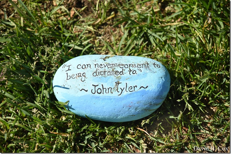 2020 6 1 Blvd painted Rocks & Protest At Rotary 013