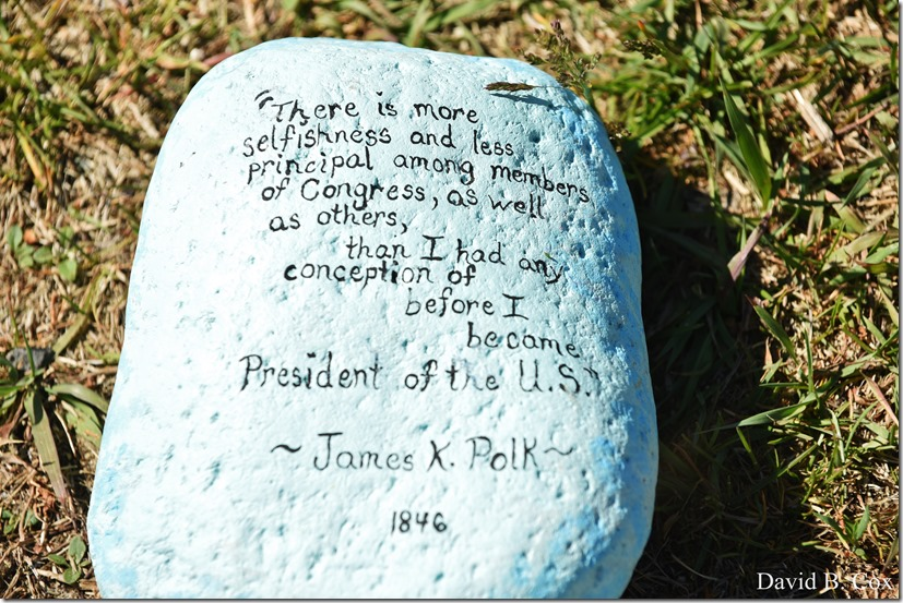 2020 6 1 Blvd painted Rocks & Protest At Rotary 044