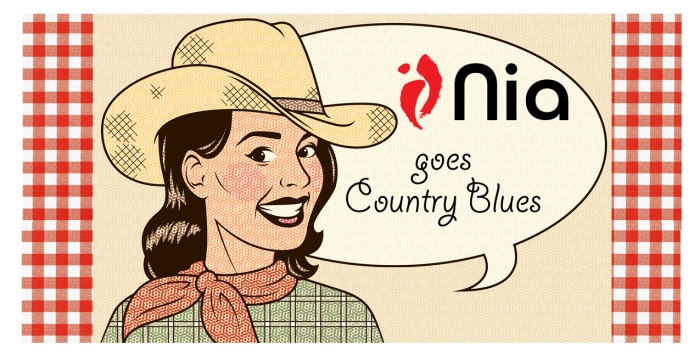 nia blues country swing title graphic