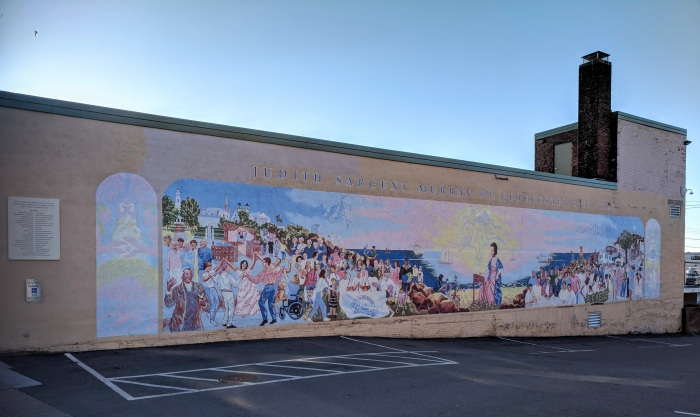 BE SARGENT_Judith Sargent Murray mural Gloucester Mass _20180422_©c ryan