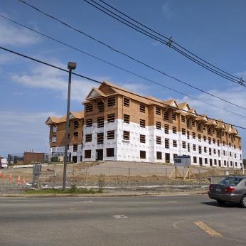 Halyard Apartments and new YMCA Gloucester Crossing progress_20200722_Gloucester Mass ©c ryan (1)