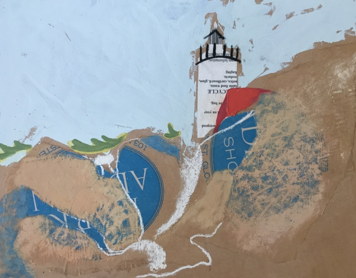 Lighthouse Collage (Mark Adrian Shoes) JDG