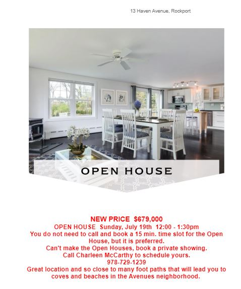 Open House 719 Haven