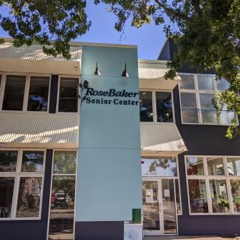 Rose Baker Senior Center Gloucester Mass new exterior paint_20200721_in progress ©c ryan (7)