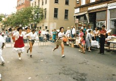 Gloucester Street Fair Waitress Race 1986