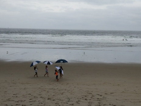Umbrella joy on a gray day Long Beach ©c ryan (2)