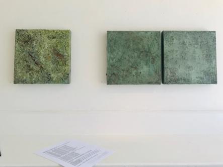 courtesy photo- installation view Deborah Brown art exhibit Jane Deering Gallery September 2020 (1)
