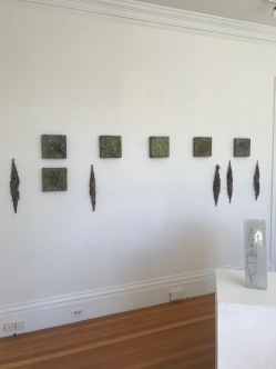 courtesy photo- installation view Deborah Brown art exhibit Jane Deering Gallery September 2020 (1)